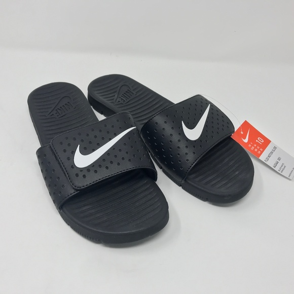 729a3b165523 NWT NIKE Men s size 10 flex motion slide sandals